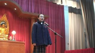 第 67 屆香港學校朗誦節 五年級普通話獨誦 亞軍 廖美婷同