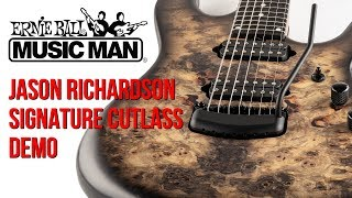 Ernie Ball Music Man Jason Richardson 7-String Cutlass Demo by Cooper Carter