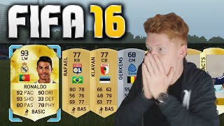 One of Jack54HD's most viewed videos: TWO RONALDOS IN A PACK!! OMFG LIVE REACTION - FIFA 16 PACK OPENING