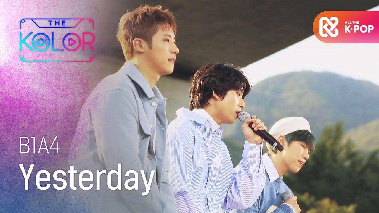 3명의 목소리, 3명의 색 <Yesterday> ♬