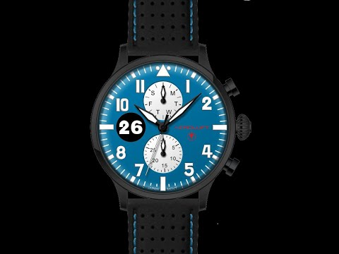 RACING WATCH TYPE 1 REIMS-GUEUX video