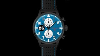 RELOJ DE PILOTO TYPE 1 REIMS-GUEUX video