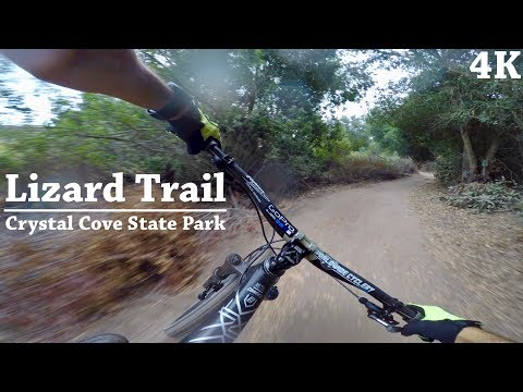Crystal Cove State Park | Lizard Trail in 4K