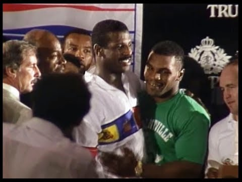 Mike Tyson - Spinks NEVER SEEN POST FIGHT BOXING INTERVIEWS