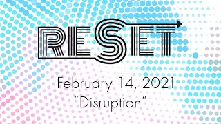 "St Andrew's Community UMC Livestream Contemporary Service RESET Series ""The Church"" Feb 14, 2021"