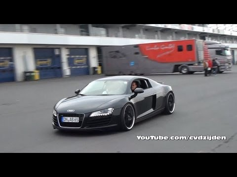 Audi R8 w/ Capristo Exhaust! VERY LOUD!!