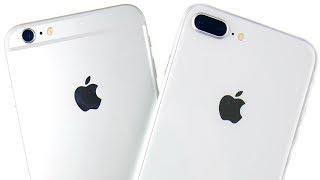 iPhone 6S Plus vs iPhone 8 Plus Speed Test!