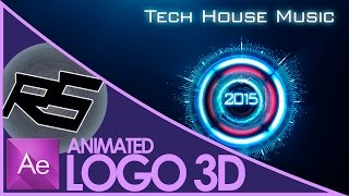 Animierte 3D-Logo | Intro After Effects | Intro Dj