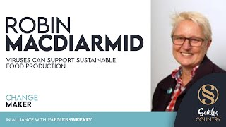 "Robin MacDiarmid | ""Viruses can support sustainable food production"""