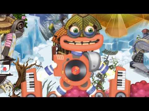 Low Low Lee My Singing Monster Roblox Power Up Wubbox In Wublin Island My Singing Monsters Youtube