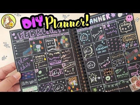 DIY Planner | มาทำแพลนเนอร์ ทำตารางงาน ตารางเรียน ใช้เองกัน