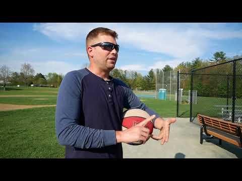 Mike O'Brien of League Legends explains the origins of new Northampton basketball court