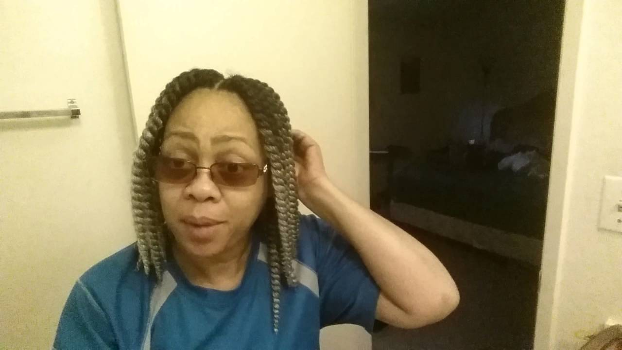 Women Over 50 Crochet Braid Style Part 2