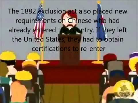 AP US History (Chinese Exclusion Act)