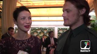 Outlander stars show up at BAFTA Tea Party held in Beverly Hills