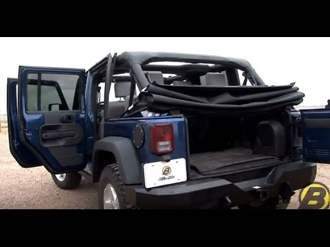 jeep wrangler jk soft top removal installation tutorial youtube. Black Bedroom Furniture Sets. Home Design Ideas