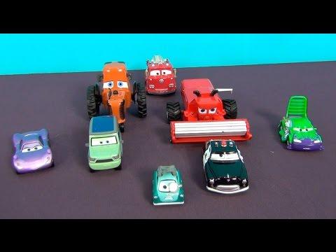 les voitures 3 en français ♥ jouets voiture du dessin animé the