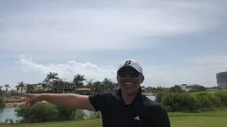 Guy Takes Golf Shot And Loses Club Out Of Grip - 1075111