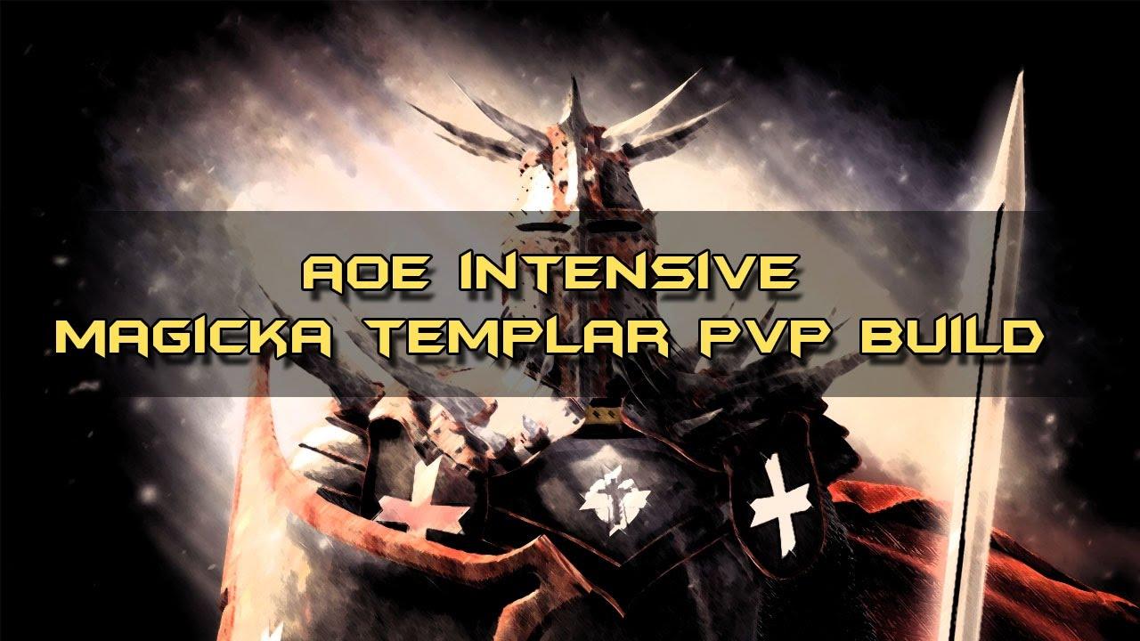 ESO One Tamriel: AOE Intensive Magicka Templar PvP Build