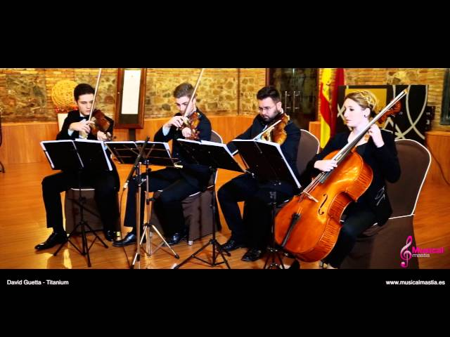Titanium string quartet COVER David Guetta