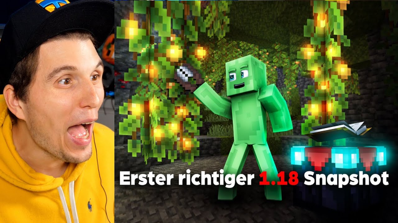 Download Paluten REAGIERT auf Erster RICHTIGER 1.18 Snapshot ist da! Minecraft 1.18 Update