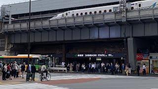Shinbashi Station Ginza Exit Street View