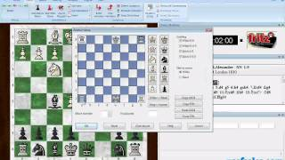 Set up a chess board position for play or analysis (Fritz Tip #0007)