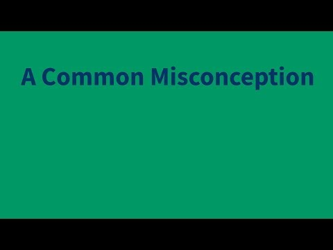 Robert David Jaffee: A Common Misconception