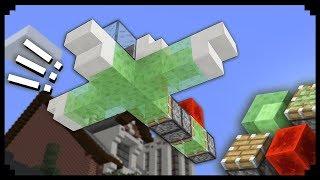 Comment faire un avion fonctionnel Minecraft