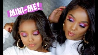 TRANSFORMING MY DAUGHTER INTO ME UPDATE! | Ellarie