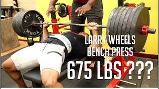 675LB bench?