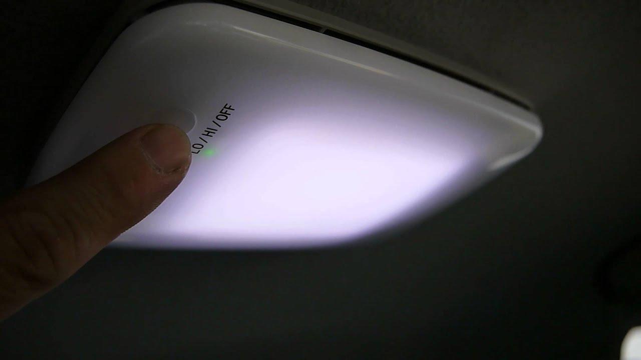 プラズマクラスター搭載ledルームランプ Youtube