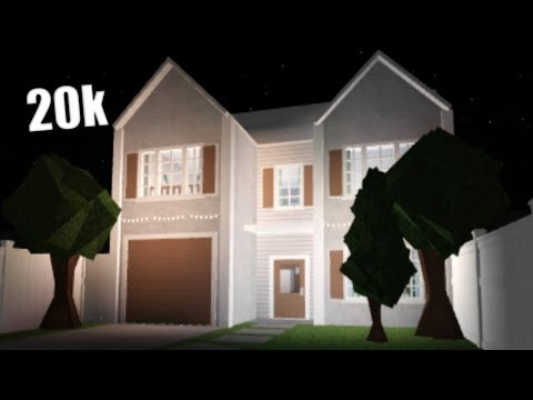 Bloxburg Cheap Family House House Build Youtube