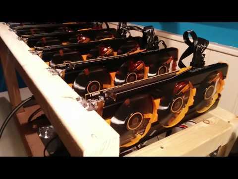 Mining Rig 6x Sapphire R9 290 Tri-x