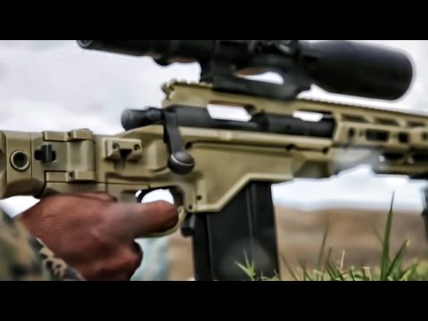 Marines Train With Remington M40 Sniper Rifles