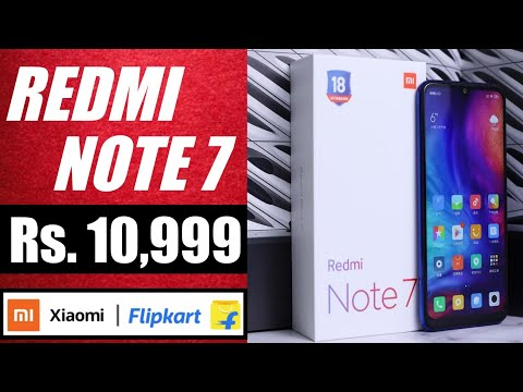 Redmi Note 7 @ Rs.11K on Flipkart   Official Teaser, Specification, Price & Launch date in India. Mp3
