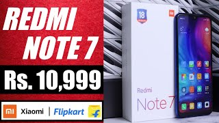 Redmi Note 7 @ Rs.11K on Flipkart | Official Teaser, Specification, Price & Launch date in India.
