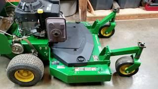 DIY - Mulch Plate For A John Deere G15