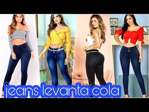 jeans COLOMBIANOS| LOS MEJORES #LEVANTACOLA @VICKYORTIZ