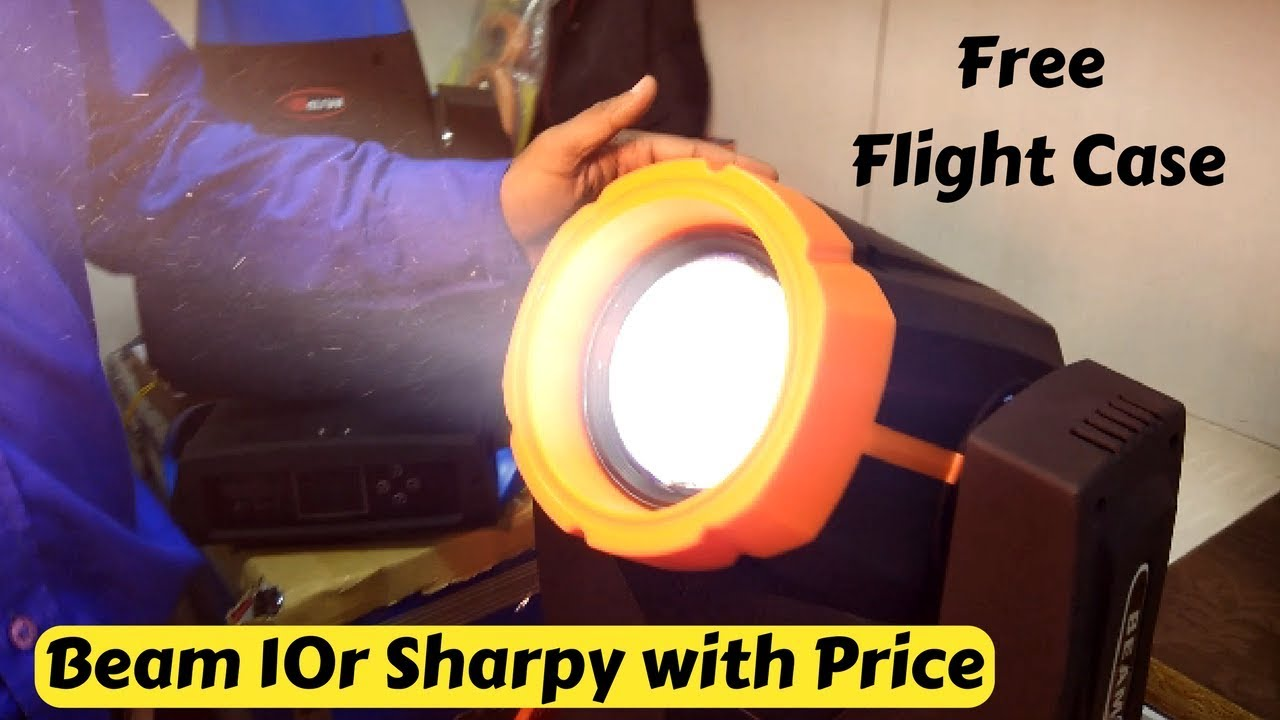 होलसेल DJ इक्विपमेंट्स, बीम 10r शार्पी with price & compare - Delhi Vlogs