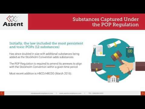 [Webinar] Persistant Organic Pollutants: Preparing For Enforcement