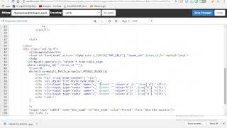 PHP & MySQL Develop E Learning System 54- krumony