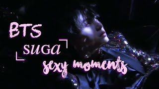 BTS Suga Sexy Moments | Min Yoongi