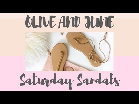 TUTORIAL: Olive and June's Saturday Sandal For Post- Pedicure Perfection