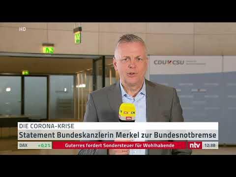 Corona LIVE: Kanzlerin Merkel gibt ein Statement ab