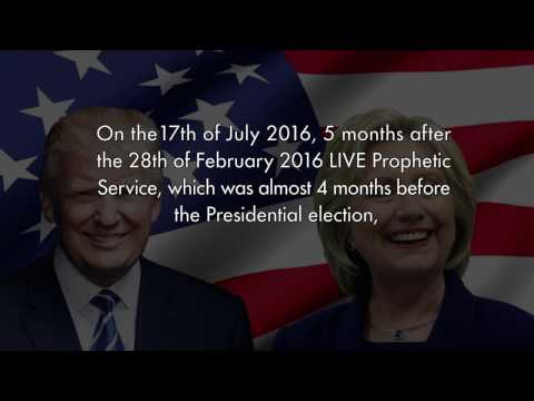 Uebert Angel - 2016 US Presidential Election Donald Trump Prophecy Fulfilled