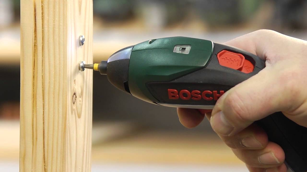 bosch ixo cordless lithium ion screwdriver youtube. Black Bedroom Furniture Sets. Home Design Ideas