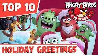 TOP 10 | Holiday greetings from Angry Birds