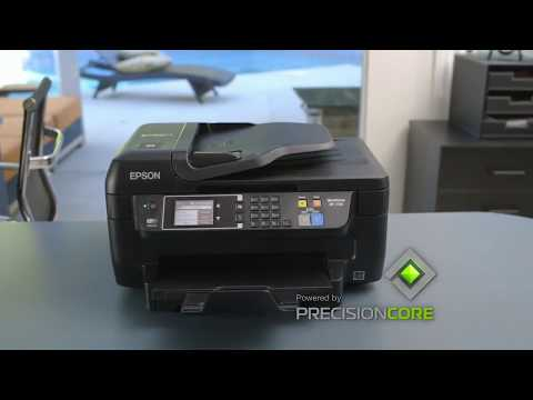 Tour The Epson WorkForce WF 2760 All In One Printer