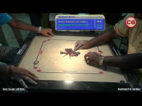 Waghpange R H vs Rahul Solanki Corporate Carrom Tour 2017 Goa By Victory Events, Bengaluru